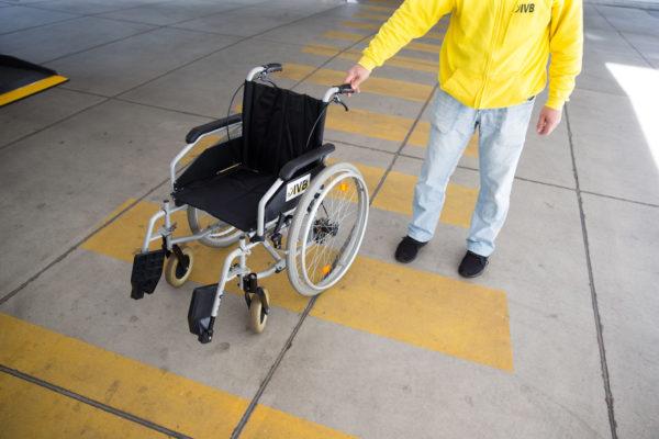patiententransport krankentransport ivb Rollstuhl mitbringen
