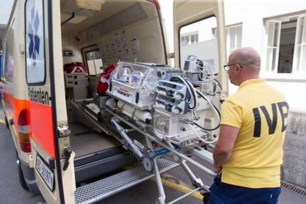 patiententransport krankentransport ivb Islotte
