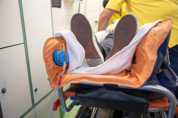 patiententransport krankentransport ivb vakuummatraze